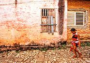 Sancti Spiritus towns and countryside, Cuba.