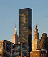 Trump World Tower, Designed by Costas Kondylis & Associates, Empire State Building, designed by Shreve, Lamb & Harmon, William F. Lamb as chief designer (&Gregory Johnson), Chrysler Building William Van Alen