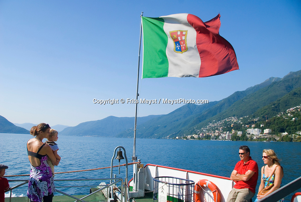 Brissago, Ticino, Switzerland, August 2009. A boat trip over Lake Lago Maggiore. Ticino is the subtropical canton of switzerland where Italian is the first language. Photo by Frits Meyst/Adventure4ever.com