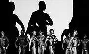 BODYBUILDING<br /> I covered the Australian Bodybuilding Championships for a couple of years .Initially I was intrigued by these people who undertook extreme exercise,diet and weight regimes to sculpt their bodies way beyond that of the average human body. From day one my first thought , after a fleeting feeling of intimidation on being surrounded by these massive frames, was that these bodybuilders were extremely dedicated and driven athletes.<br /> <br /> Date..20th October 2007<br /> Pixs taken during the &quot;2007 AUSTRALIAN BODYBUILDING CHAMPIONSHIPS &quot; at Revesby Workers Club , (3 Brett Street Revesby).which also incorporated BODYSHAPING, FITNESS and FIGURE..<br /> <br /> Images were taken down in the so called &quot;PIT&quot; where competitors got ready , pumped themselves up and rubbed fake body tan on etc. There are also pixs of competitors in the small makeup rooms just off to the side of the stage where they check themselves out, practice their poses, and make final adjustments before going onto the stage to compete.Finally there are pixs of them on stage .The event was a PAUL and CAROL GRAHAM Production.