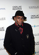 "Mos Def at the ' Cadillac Records' premiere at held at AMC Broadway 19th Street on Decemeber 1, 2008 in NYC..In this tale of sex,, violence, race, and rock and roll in the 1950's Chicago, 'Cadillac Records"" follows the exciting but turbulent lives of some America's musical legends including Muddy Waters, Leonard Chess, Little Walter, Howlin' Wolf, Chuck Berry and Etta James."