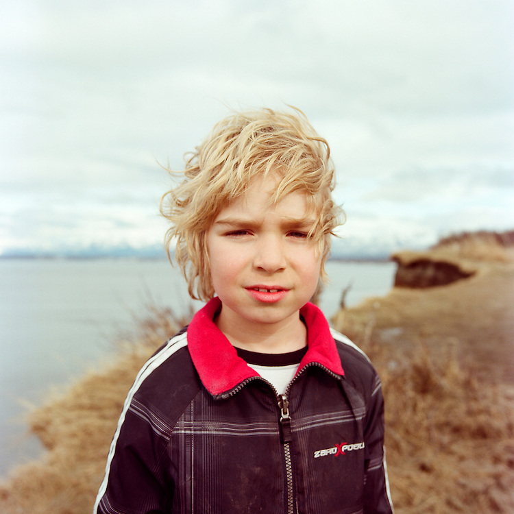 ANCHORAGE, ALASKA - 2012: Sam.