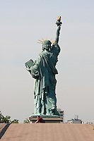 Statue of Liberty in Paris France in Spring time of May 2008