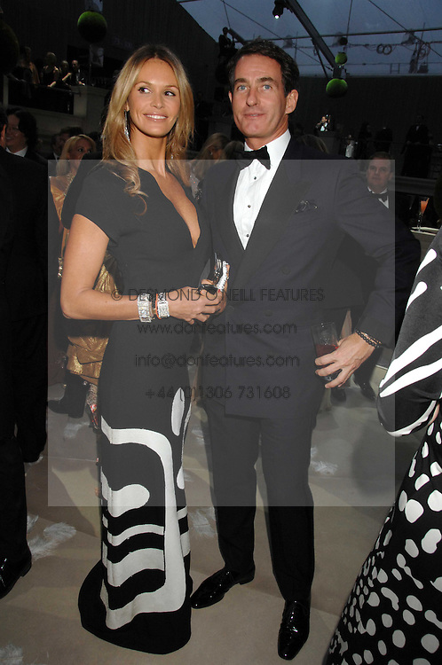 ELLE MACPHERSON &amp; TIM JEFFERIES at the Ark 2007 charity gala at Marlborough House, Pall Mall, London SW1 on 11th May 2007.<br />