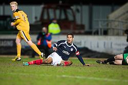 Falkirk's Lyle Taylor..Falkirk v Dumbarton, 16/4/2013.
