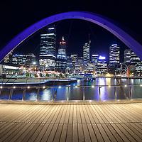 Perth Skyline-Night Time - 2017