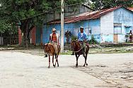 Cowboys in Costa Rica, Guantanamo, Cuba.