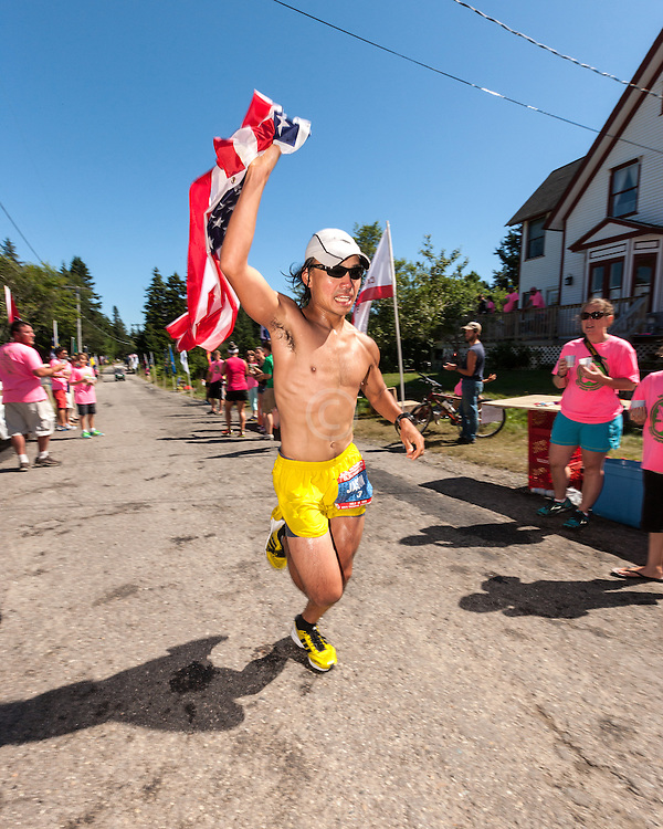 Great Cranberry Island Ultra 50K road race: Jason Bui