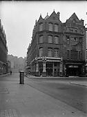 1955 - Views of Harry Street-Grafton Street Corner, Dublin