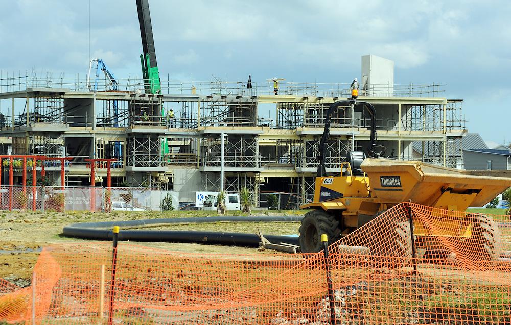 Hobsonville housing development, Auckland, New Zealand, Monday, August 25, 2014. Credit:SNPA / Ross Setford