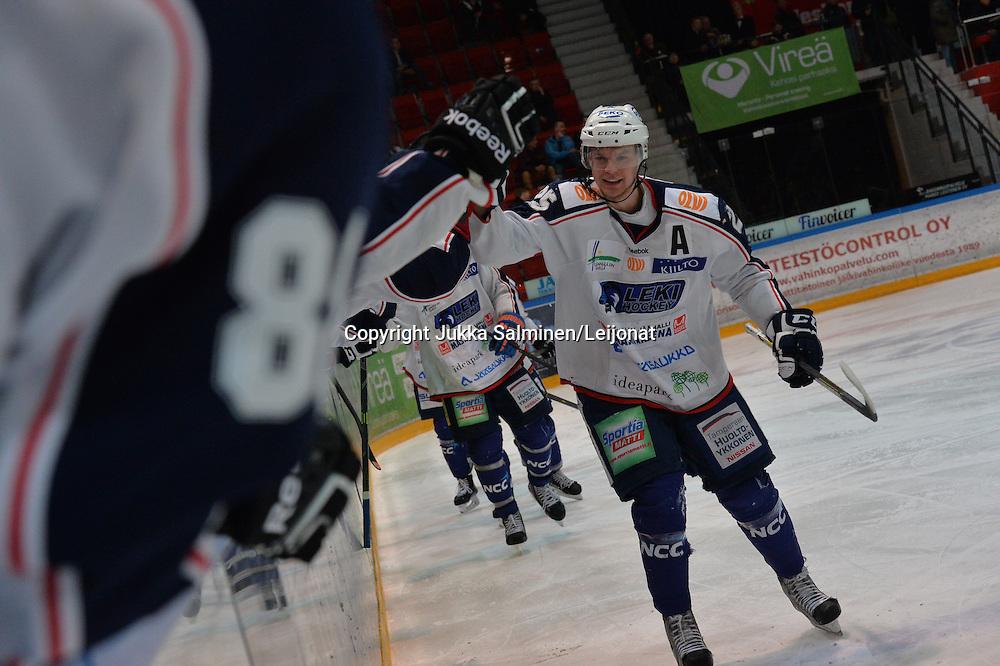 Mestiksen puolivälieräottelu Turussa 14.3.2015. Vastakkaine TUTO Hockey ja LeKi. Ottelun voitti Lempäälän Kisa maalein 4-1.