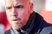 UTRECHT - FC Utrecht - SC Heerenveen , Voetbal , Eredivisie , Seizoen 2016/2017 , Stadion Galgenwaard , 05-02-2017 ,   FC Utrecht coach Erik ten Hag