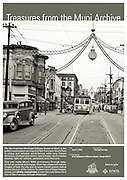Arch lighting on Fillmore Street, looking North from Pine Street | June 8, 1943