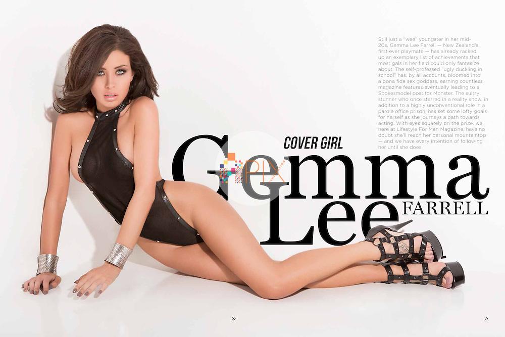 Gemma Lee Farrell for Lifestyle for Men magazine :: October 2014