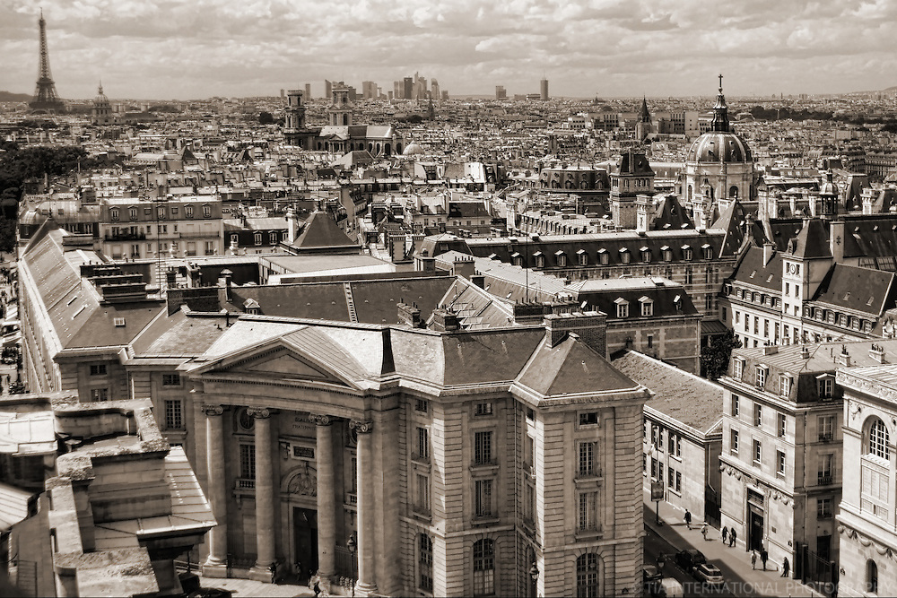 La Ville de Paris du Pantheon