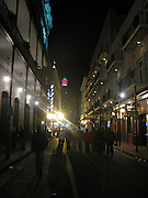 The ' Big Easy ' at night. the Historic city of New Orleans as it recovers from the effects of Katrina. Its magic and darkness is expilified through the resiliency of its population and resurgency of economy.