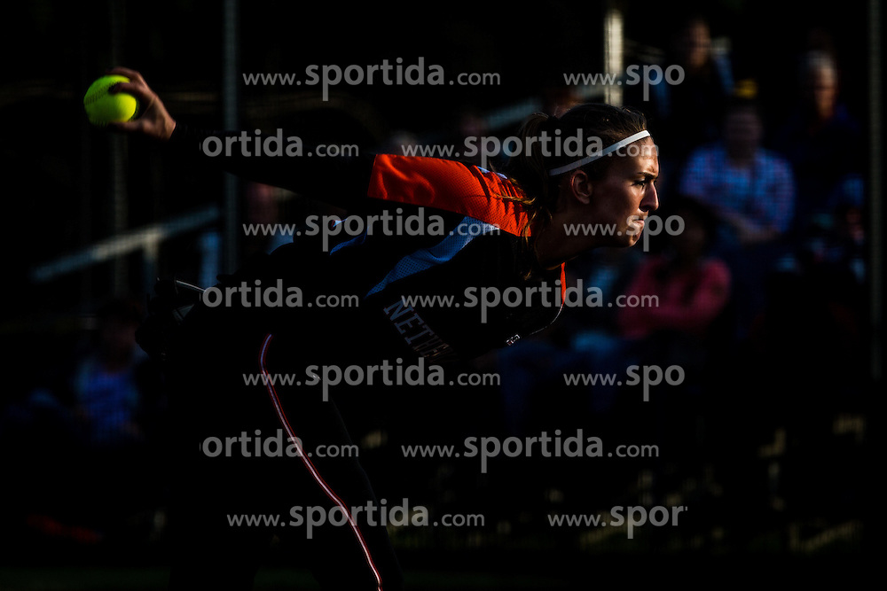 DE WEERT Ginger of Netherland during XIX European Softball Fastpitch  Championship Women, on July 20, 2015 in Rosmalen,  Netherlands. Photo by Grega Valancic / Sportida