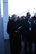 Larry Silverstein at The 2008 Veterans Day  Ceremonies at the Intrepid Sea, Air, & Space Musem on November 11, 2008 in NYC