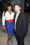 16 September : New York, NY- Recording Artist Somayo Reece and Musical Composer Carlos Martin at the HBO Latino screening of ' The Latino List ' on September 16, 2011 held at El Museo Del Barrio in New York City. Photo Credit: Terrence Jennings