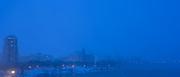 Blue Night, Snow Warning, Saskatoon