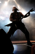 Kerry King of the band Slayer performs at the Roseland Ballroom November 11, 2004 in New York City. .Photo by Keith Bedford