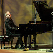 Jeremy Denk performs works by Janáček and Schubert at the 68th Ojai Music Festival at Libbey Bowl on June 12, 2014 in Ojai, California.