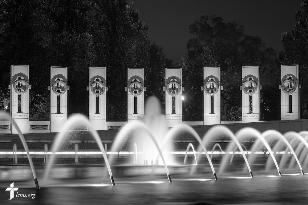 The National World War II Memorial on Wednesday, Sept. 9, 2015, in Washington, D.C. LCMS Communications/Erik M. Lunsford