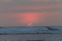 Sunset Costa Rica beach