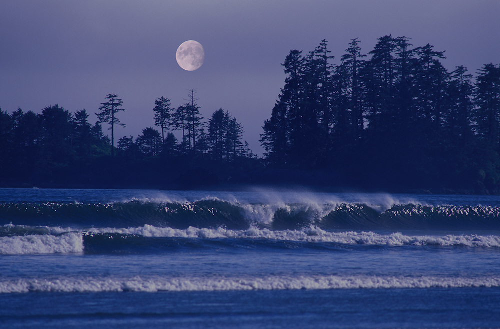 Surf, Pacific Rim National Park,Vancouver Island, British Columbia, Canada