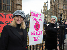DEC 12 2014 Protest over new porn censorship at Parliament