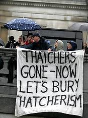 APR 13 2013 Thatcher Death Parties