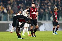 Torino - 25.01.2017 - Coppa Italia Tim   -  Juventus-Milan   - nella foto:  Cristian Zapata deluso a fine partita