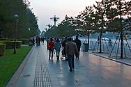 Outside Tienanmen Gate