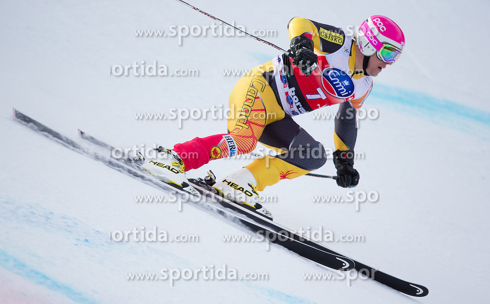 27.12.2012, Stelvio, Bormio, ITA, FIS Weltcup, Ski Alpin, Abfahrt, 1. Training, Herren, im Bild Benjamin Thomsen (CAN) // Benjamin Thomsen of Canada in action during 1st practice of the mens Downhill of the FIS Ski Alpine Worldcup at the Stelvio course, Bormio, Italy on 2012/12/27. EXPA Pictures © 2012, PhotoCredit: EXPA/ Johann Groder