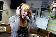 Frankfurt am Main | 08.04.2011..Die englische Pop- und Rocksaengerin Natasha Bedingfield im Radiostudio von Radio NRJ in Frankfurt am Main...©peter-juelich.com..[No Model Release | No Property Release]