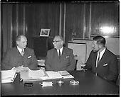 1960 -19/02  American businessmen visit Minister Jack Lynch