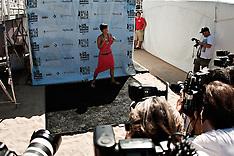 Vanessa Hudgens Hosts the U.S. Open of Surfing 2011 Walk the Walk Finals.