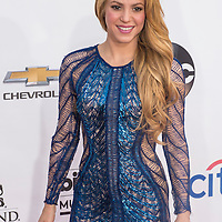 LAS VEGAS - MAY 18 : Recording artist Shakira attend the 2014 Billboard Music Awards at the MGM Grand Garden Arena on May 18 , 2014 in Las Vegas.