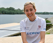 Caversham, Great Britain,  Cox, Lily VAN DEN BROECKE.  GB Rowing Training centre. Tuesday  29/05/2012 . Adaptive Press Conference. [Mandatory Credit. Peter Spurrier/Intersport Images]