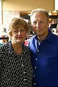 12.05.2006 Warsaw Poland. Film producer Peter Fudakowski and his wife. Fot. Piotr Gesicki.