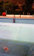 At the swimming pool in Skopje