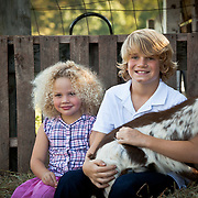 Kids at NJ farm