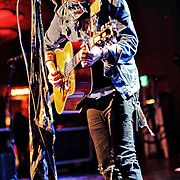 "Christofer Drew Ingle aka Never Shout Never performs on October 19, 2010 in support of ""Harmony"" at the Showbox at the Market in Seattle, Washington"