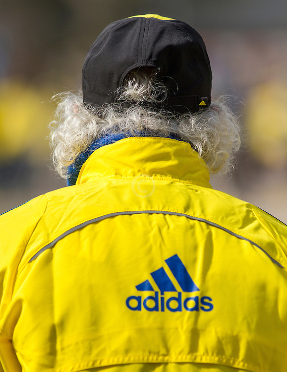 2013 Boston Marathon: volunteer