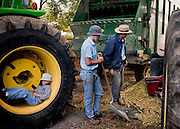 Old order Mennonite family cutting corn Old Order Mennonites are a branch of the Mennonite church. It is a term that is often used to refer to those groups of Mennonites who practice a lifestyle without some elements of modern technology.