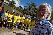 The Government of New Caledonia, Jean Michel Cousteau and kids