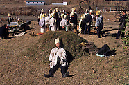 KR451, Traditional Burial ceremony in South Korea, enterrement en Coree du Sud