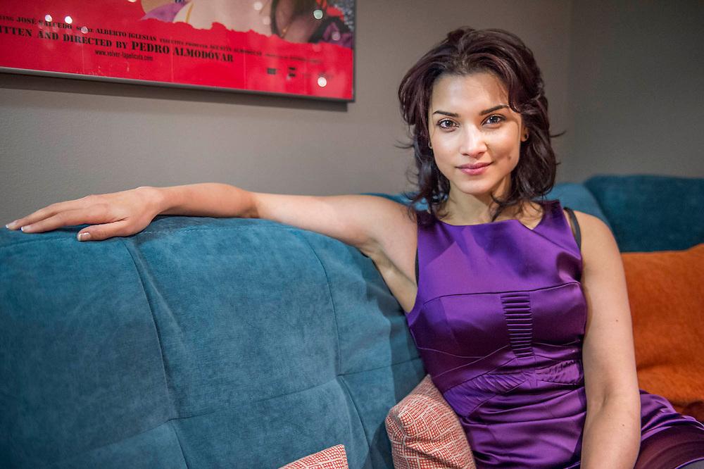 Amber Rose Revah Indian Summers >> Amber Rose Revah at the preview of Indian Summers at the BFI, London, UK 12 Feb 2015.   GBPhotos