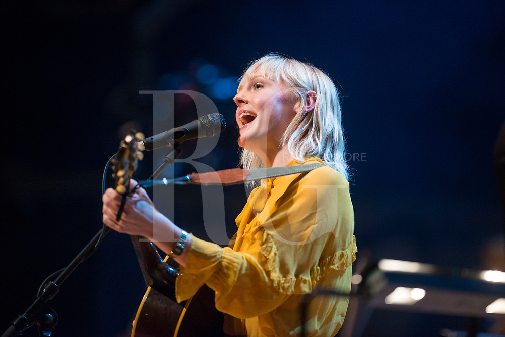 Laura Marling performs as part of the Celtic Connections Festival at Glasgow Royal Concert Hall on January 19, 2017 in Glasgow, Scotland. (Photo by Ross Gilmore