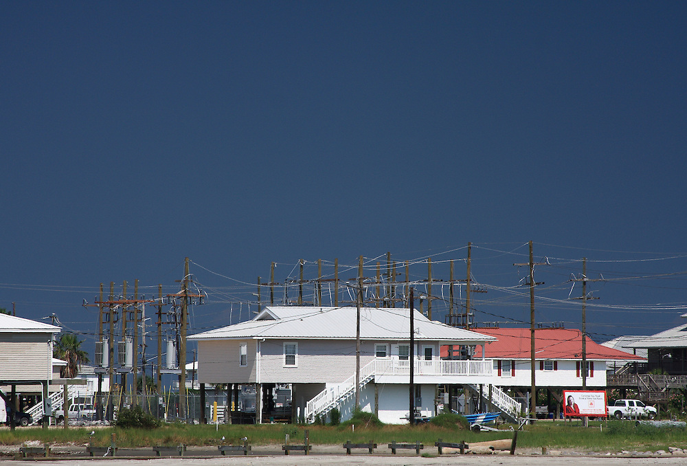 Surrounded by Wires, Grand Isle, LA